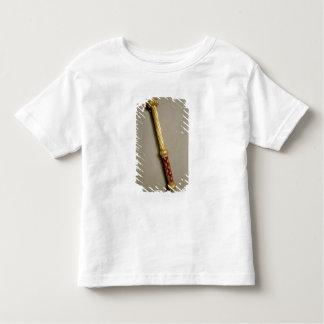 ギヨームde Roquemont 1384年のバトン(金ゴールド、v トドラーTシャツ