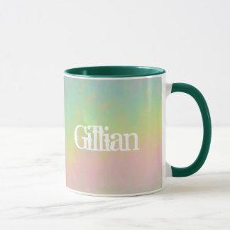 ギリアンの虹の名前のギフトのマグ マグカップ
