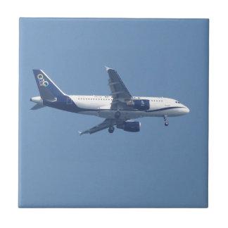 ギリシャのジェット旅客機 タイル