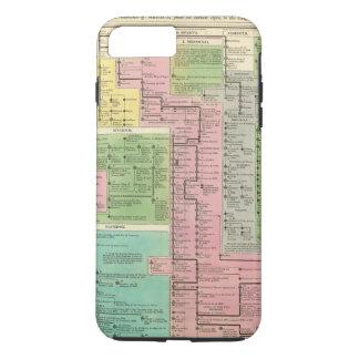 ギリシャのタイムラインの王国 iPhone 8 PLUS/7 PLUSケース
