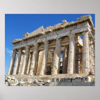 ギリシャのパルテノンポスター プリント