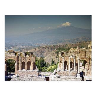 ギリシャの円形競技場 ポストカード