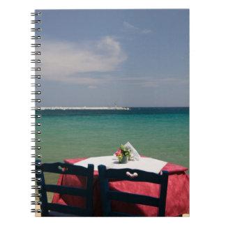 ギリシャの北東エーゲ海諸島、サモス、4 ノートブック