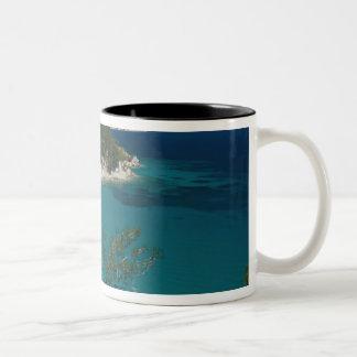 ギリシャの北東エーゲ海諸島、サモス、7 ツートーンマグカップ