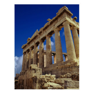 ギリシャの台なし、アクロポリス、ギリシャ ポストカード