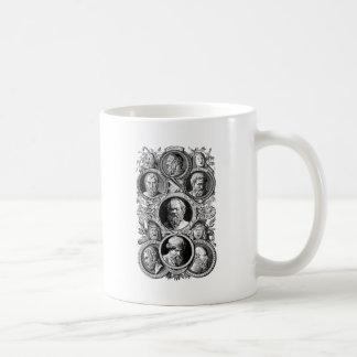 ギリシャの哲学者 コーヒーマグカップ