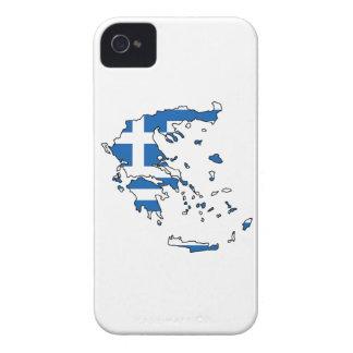 ギリシャの地図 Case-Mate iPhone 4 ケース
