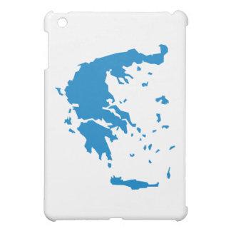 ギリシャの地図 iPad MINIカバー