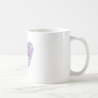 ギリシャの島のマグ コーヒーマグカップ