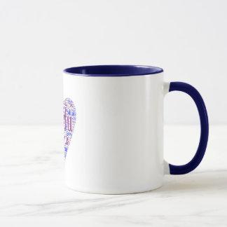 ギリシャの島のマグ マグカップ