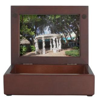 ギリシャの庭の記念品のギフト用の箱 ジュエリーボックス