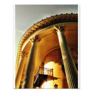 ギリシャの復活の柱廊玄関、サバンナ フォトプリント