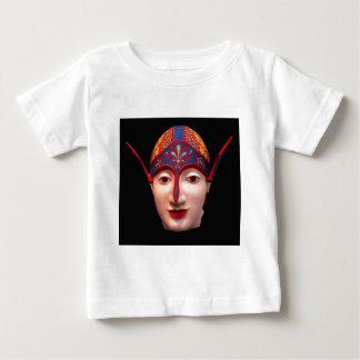 ギリシャの戦士の頭部 ベビーTシャツ