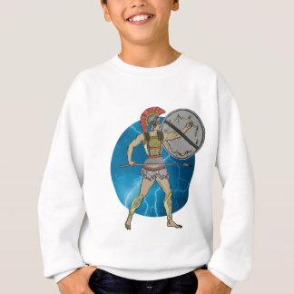 ギリシャの戦士 スウェットシャツ