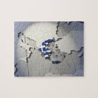 ギリシャの旗 ジグソーパズル