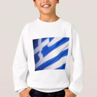 ギリシャの旗 スウェットシャツ