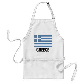 ギリシャの旗 スタンダードエプロン