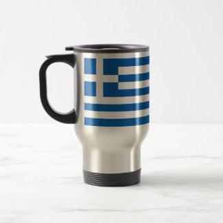 ギリシャの旗 トラベルマグ