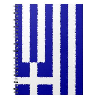 ギリシャの旗 ノートブック