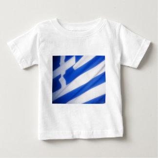 ギリシャの旗 ベビーTシャツ