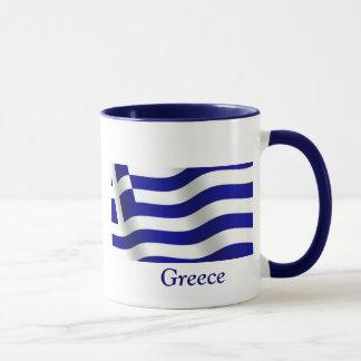ギリシャの旗 マグカップ