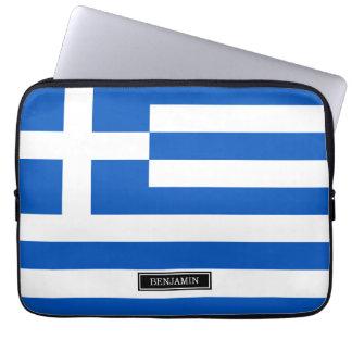 ギリシャの旗 ラップトップスリーブ