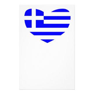 ギリシャの旗 便箋