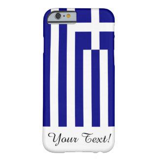 ギリシャの旗 BARELY THERE iPhone 6 ケース
