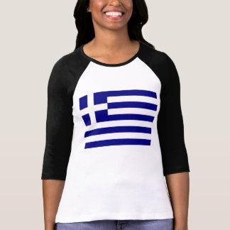 ギリシャの旗 Tシャツ