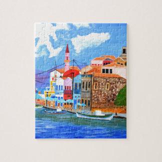 ギリシャの海岸 ジグソーパズル