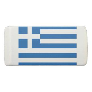 ギリシャの消す物の旗 消しゴム