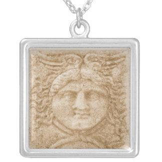 ギリシャの神HERMES シルバープレートネックレス