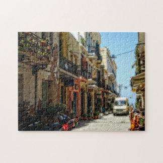 ギリシャの通り ジグソーパズル