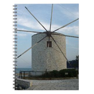 ギリシャの風車 ノートブック