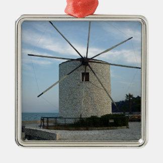 ギリシャの風車 メタルオーナメント