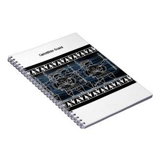 ギリシャの黒い姿の軍隊 ノートブック