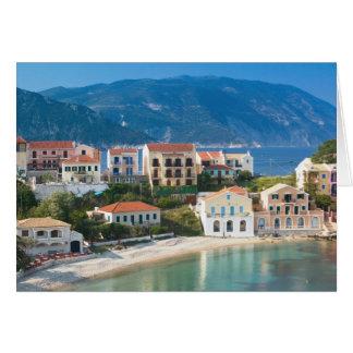 ギリシャのIonian島、KEFALONIA、Assos: 2 カード
