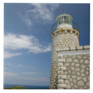 ギリシャのIonian島、ZAKYNTHOSの岬SKINARI: タイル