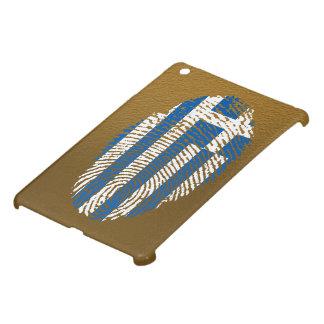 ギリシャのtouchの指紋の旗 iPad miniケース