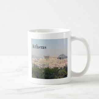 ギリシャアテネのアクロポリス コーヒーマグカップ