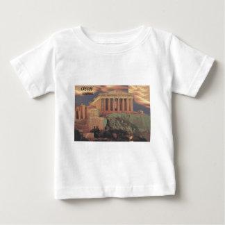 ギリシャアテネのパルテノンの雲(St.K) ベビーTシャツ
