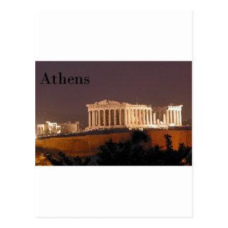 ギリシャアテネのパルテノン(St.K) ポストカード