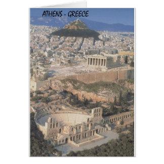 ギリシャアテネのherodionのパルテノン(St.K.) カード