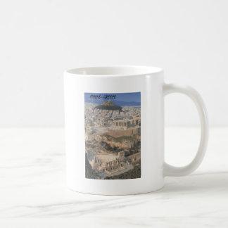 ギリシャアテネのherodionのパルテノン(St.K.) コーヒーマグカップ