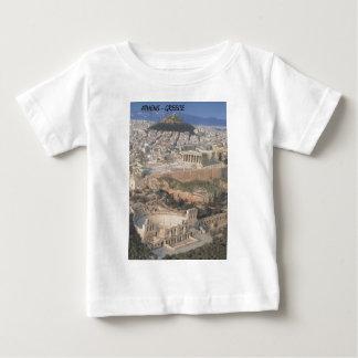ギリシャアテネのherodionのパルテノン(St.K.) ベビーTシャツ