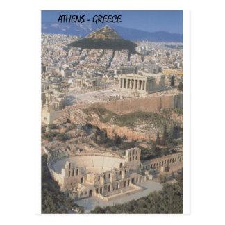 ギリシャアテネのherodionのパルテノン(St.K.) ポストカード