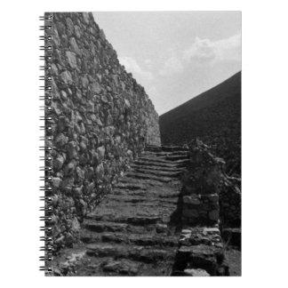 ギリシャアテネMycenaeの王室のな階段1970年 ノートブック