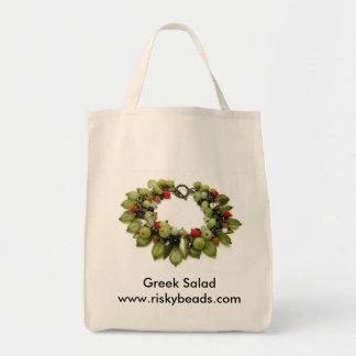 ギリシャサラダ トートバッグ
