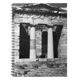 ギリシャデルファイのアテナイの宝庫1970年 ノートブック