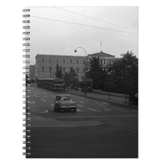ギリシャデルファイの古い宮殿アテネ1970年 ノートブック